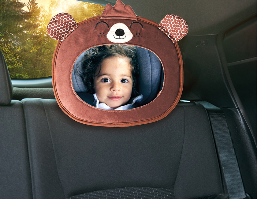 Rear-facing accessories for an even safer ride
